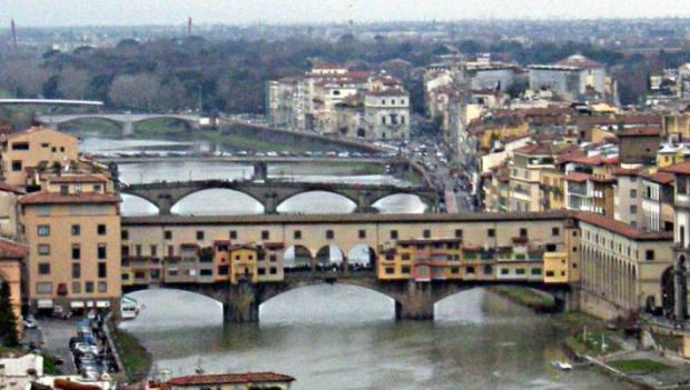Ponte Vecchio, sur l'Arno