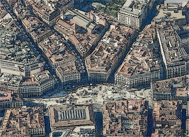 La Puerta del Sol et ses alentours