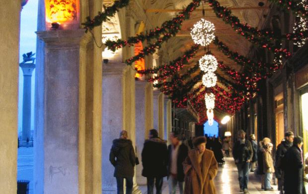 Les arcades de la place Saint Marc