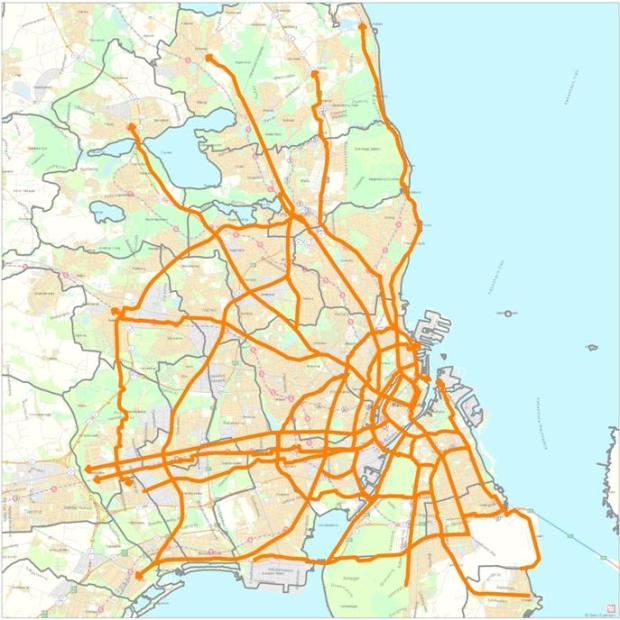 Réseau d'autoroutes cyclables de Copenhague
