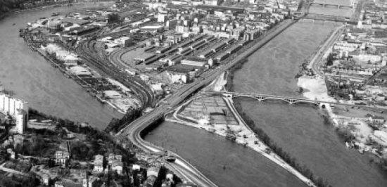 Le territoire de projet en 1972