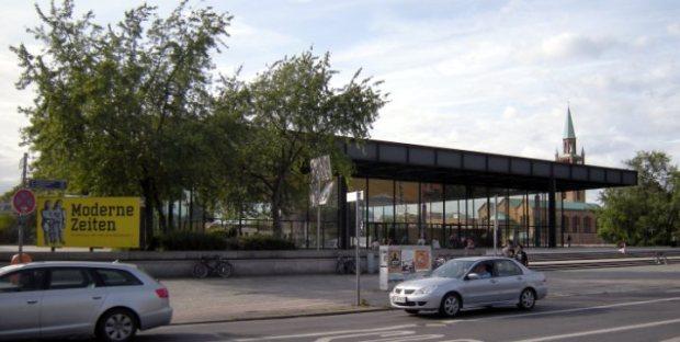 La Galerie Nationale vue depuis Postdamer Strasse