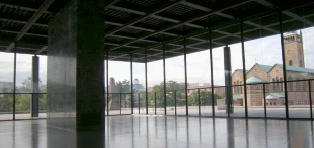 L'eglise de Saint Mathieu vue depuis la Galerie