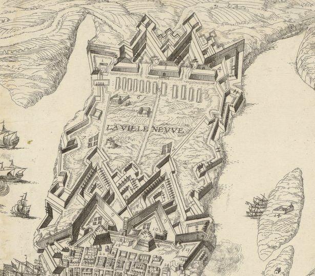 L'extension de 1645, devenue Floriana de nos jours