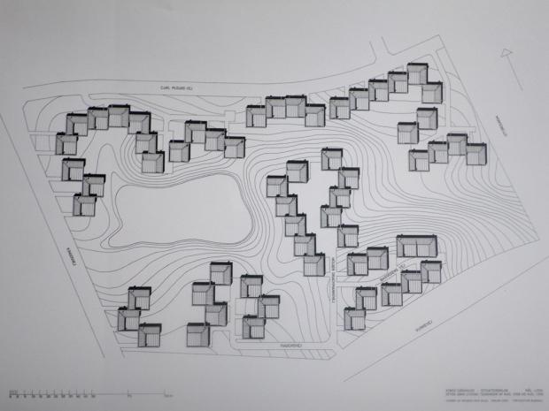 Projet d'origine. L'etat actuel peut etre vu sur http://maps.google.es/?ll=56.032259,12.579829&spn=0.004748,0.00883&t=h&z=17