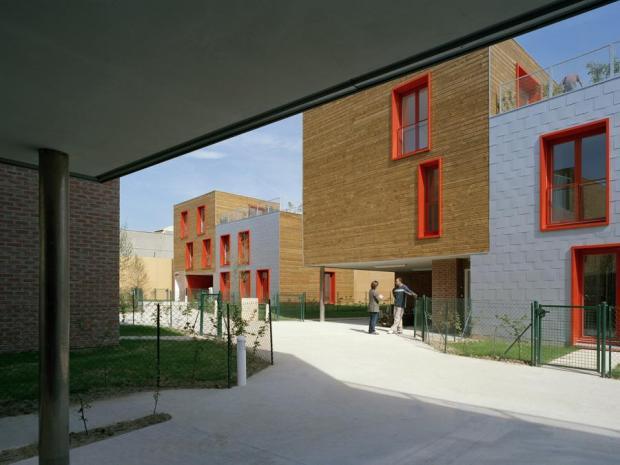 Images du site web de Peripheriques Architectes