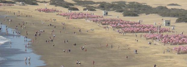 Compter les parasol sur la plage n'est pas une methodologie reconnue...