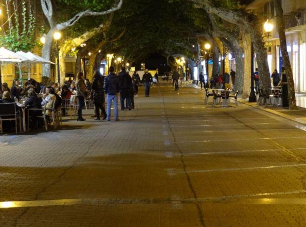 Un soir, sans voitures.