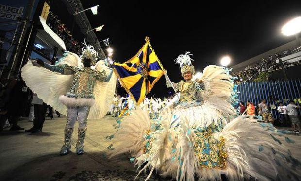 Le défilé de 2013 au Sambodromo. Image de Fora do Eixo, http://www.flickr.com/photos/foradoeixo/8462879433/