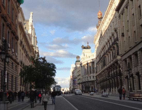 Calle de Alcalá, un axe historique de la vieille ville