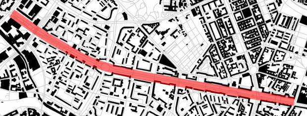 Karl-Marx Allée: 3,4 km de voie triompale vers la Pologne