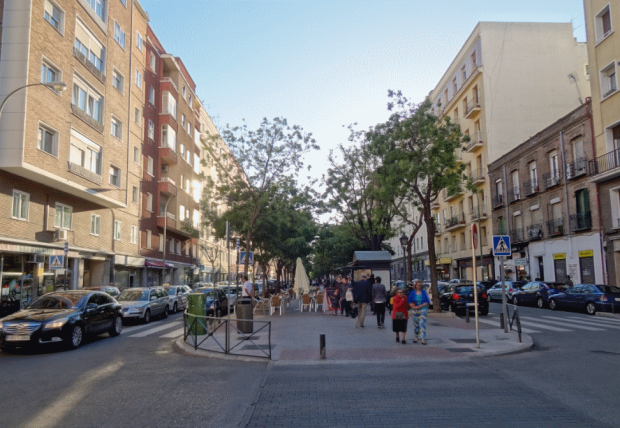 Calle Alcalde Sainz de Baranda
