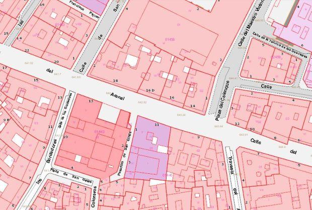 26jul-calle Arenal-plan