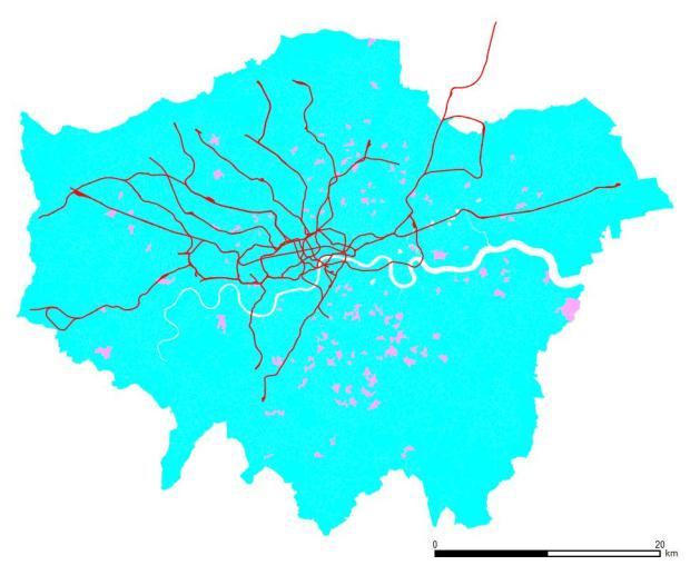 Hauts cadres. Les zones bleues ont plus d'hommes que de femmes