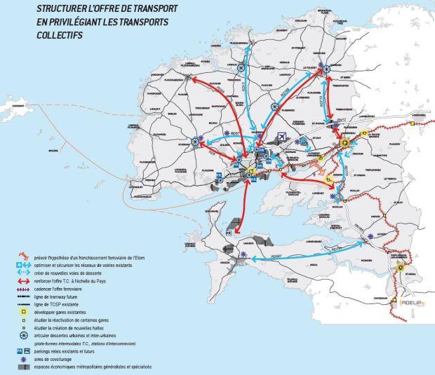 Les transports, une autre priorité du SCOT