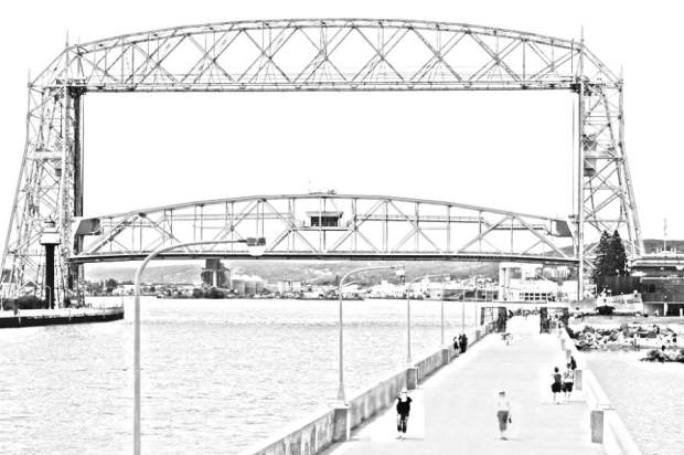 Aerial Lift Bridge, a Duluth
