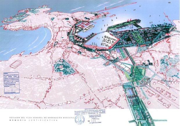 Le projet d'un port plus urbain