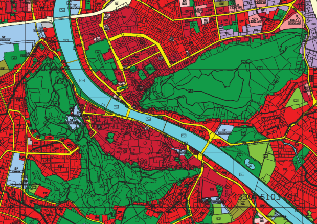 Le Plan d'urbanisme protege les collines