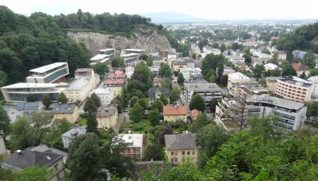Vue vers l'ouest depuis Mönschberg