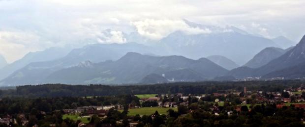 Vue vers le sud depuis Mönschberg