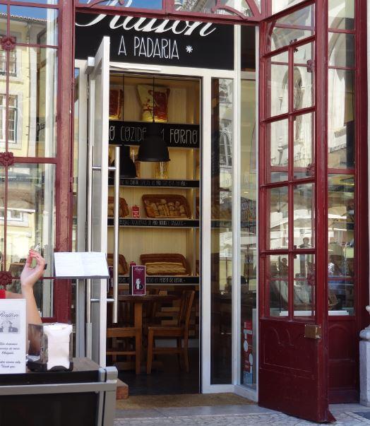 Boulangerie a la gare du Rossio, Lisbone