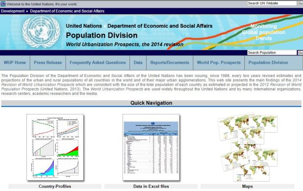 biblio112-world urbanization prospect